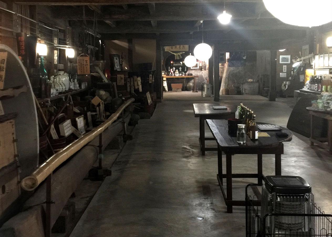 Inside the Matsuura Ichi Shuzo Sake Brewery
